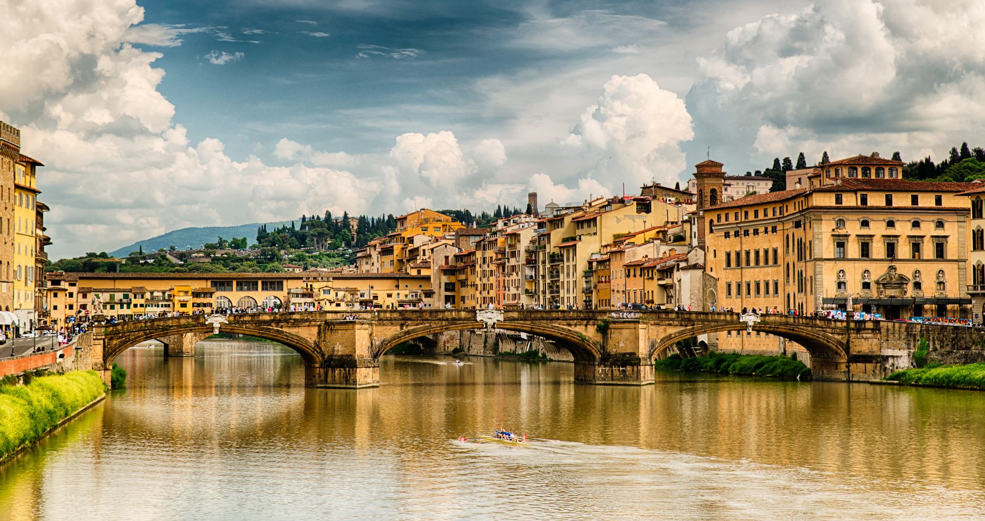 Santa Trinita Bridge in Florence