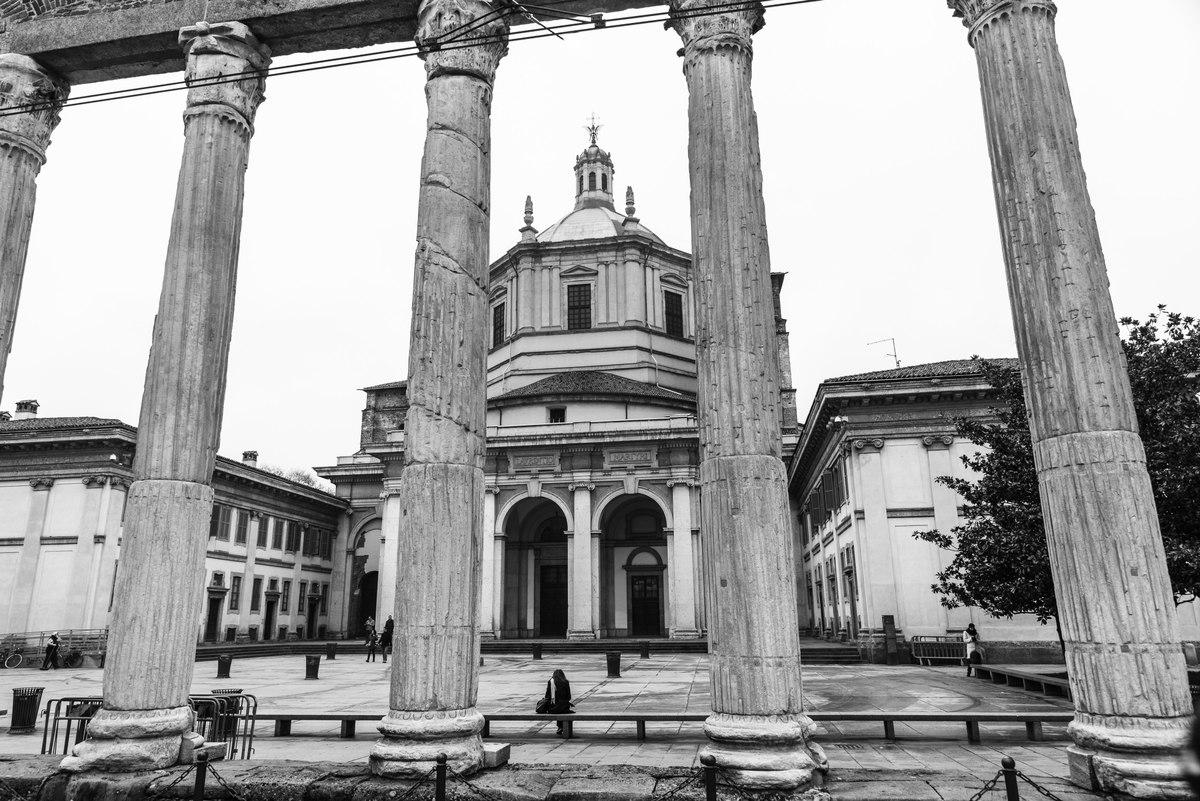 Basilica di San Lorenzo and columns, Milan