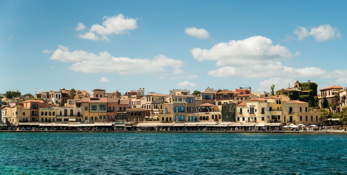 Buildings in Chania
