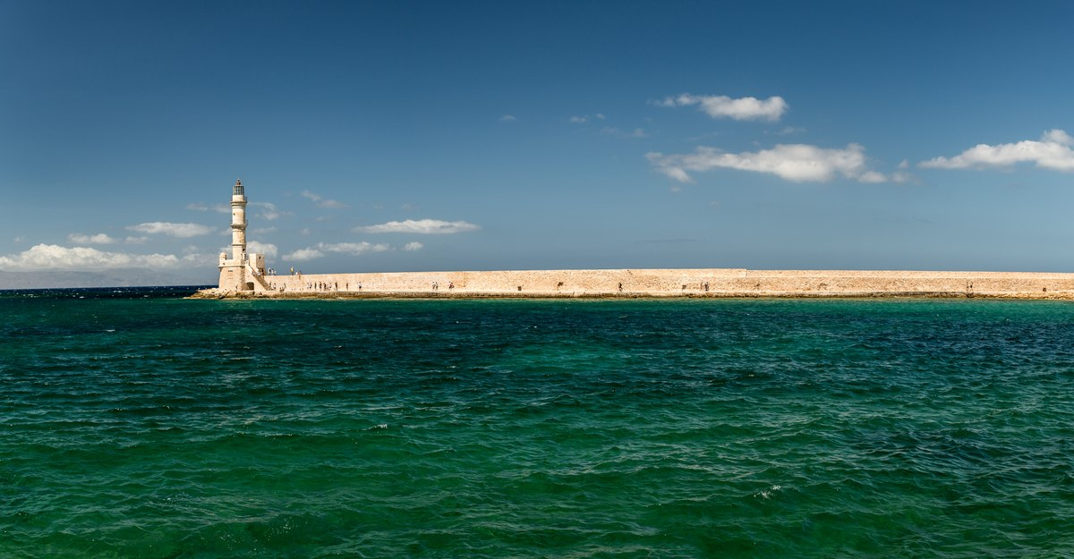 Chania Pier and Lighthouse