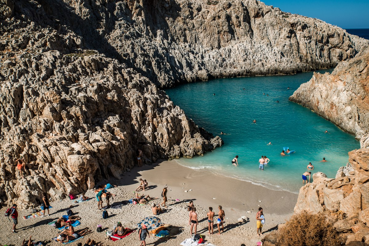 Seitan Limania Beach, Crete