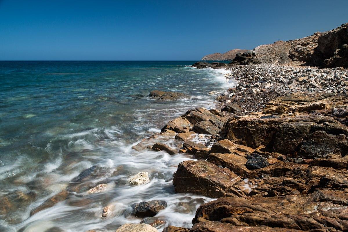 Rocky Cretan Beach