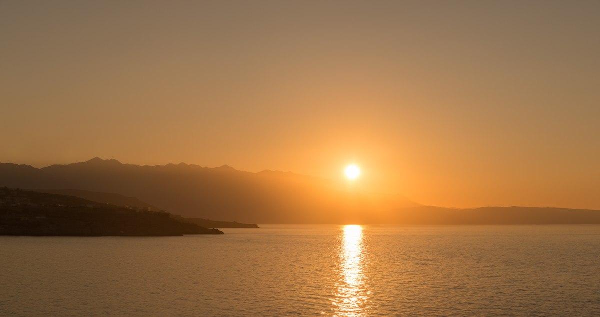 Cretan sunset