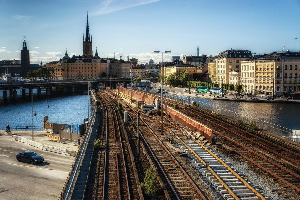 Railroads in Stockholm