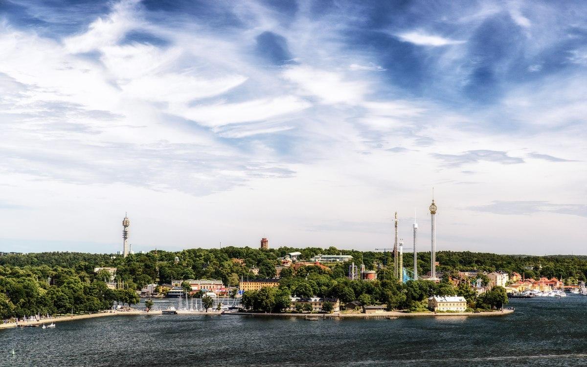 Stockholm amusement park