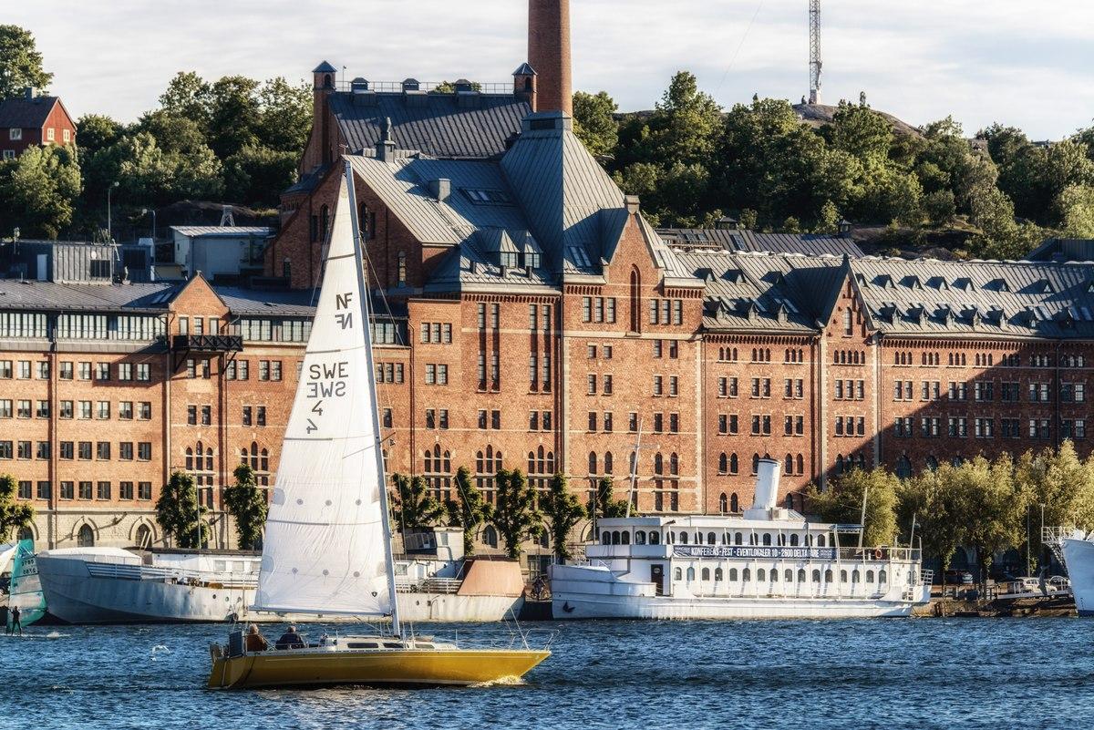 Sailboat in Stockholm