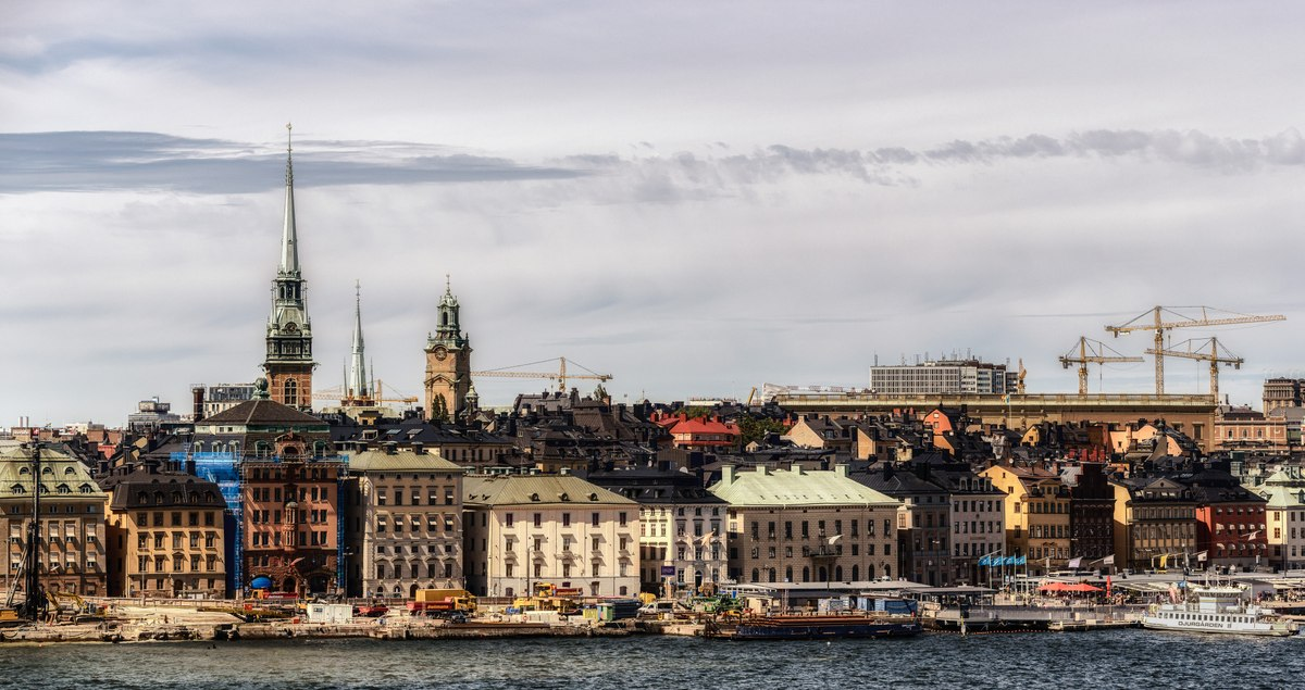 Stockholm house panorama