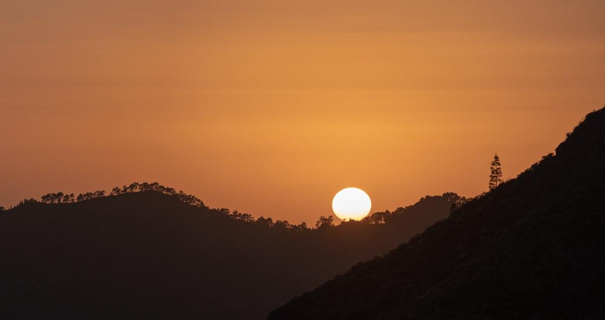 Artenara sunset