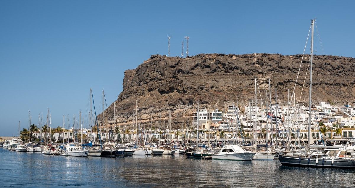 Port in Gran Canaria