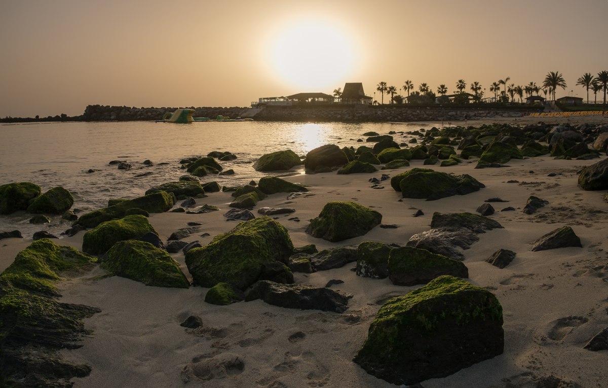 Playa de Amadores Sunset