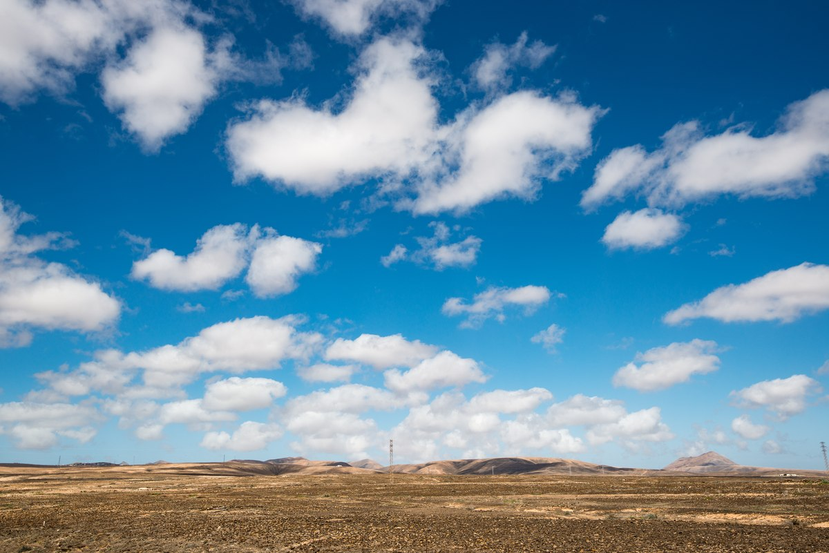Fuerteventura cloudscape