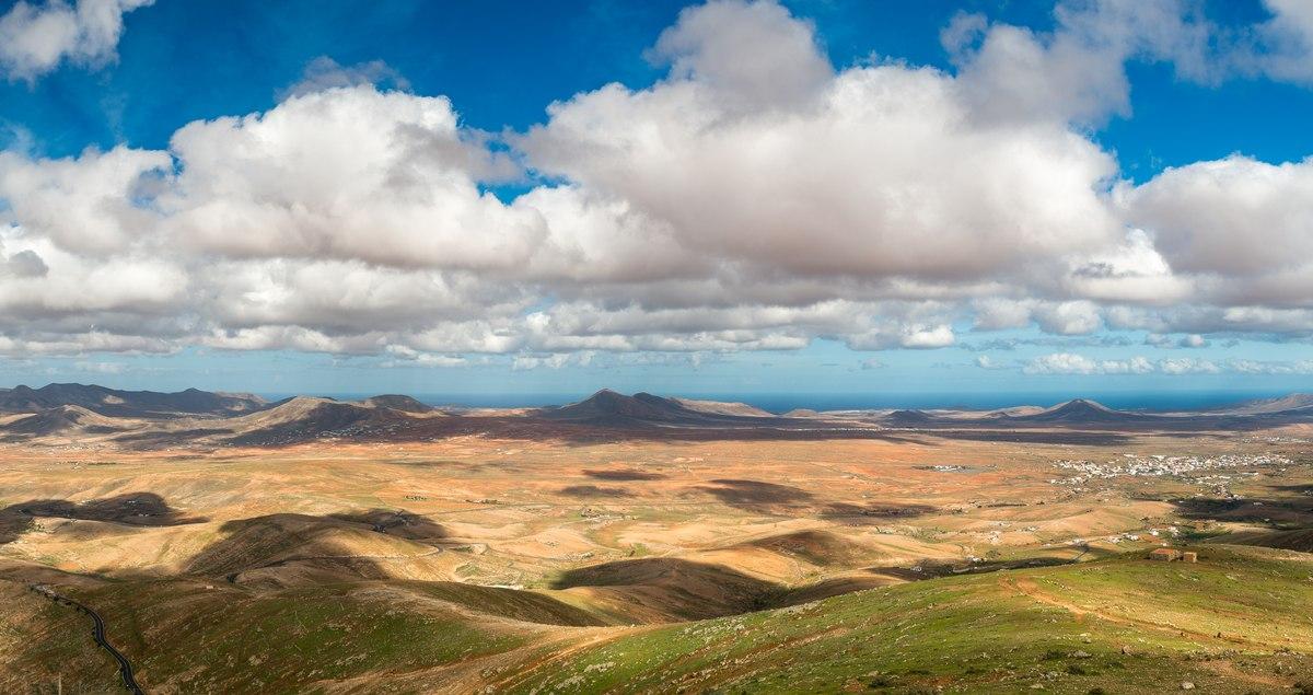 Cloudscape in Fuerteventura