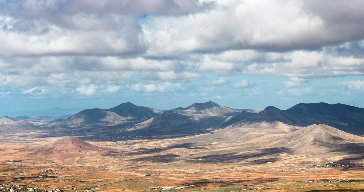 Mountains in Fuerteventura