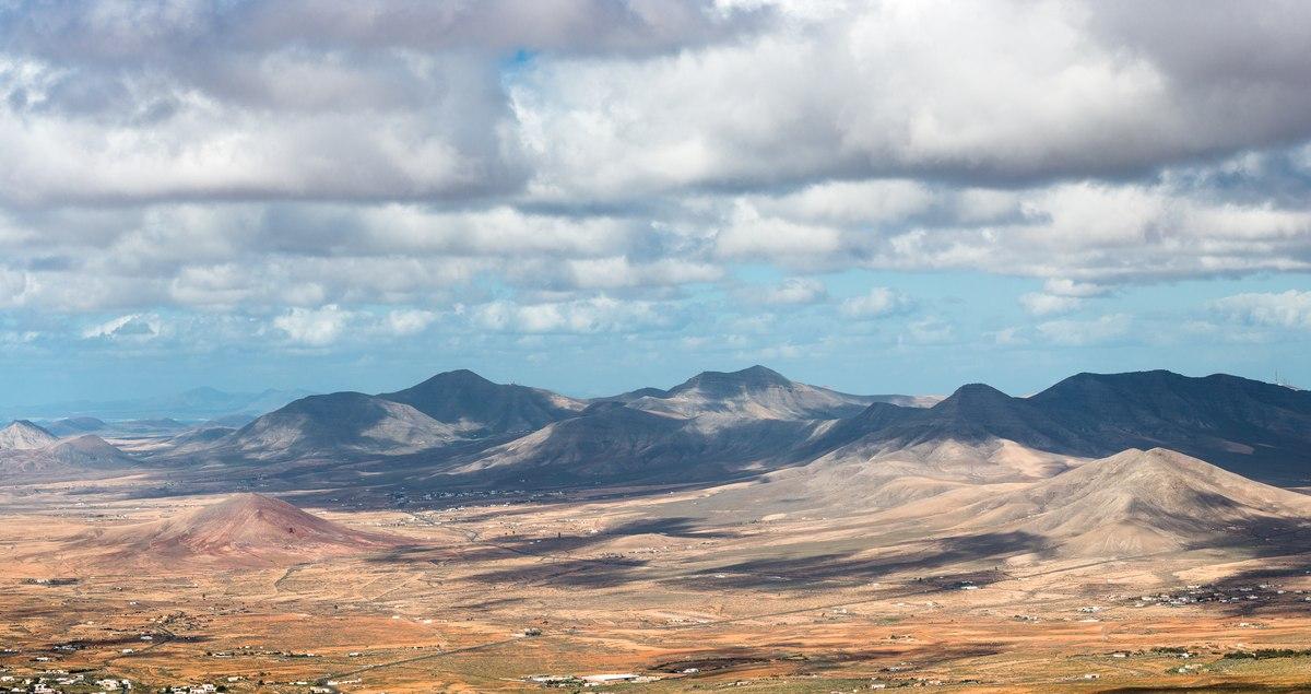 Mountains in Fuerteventura