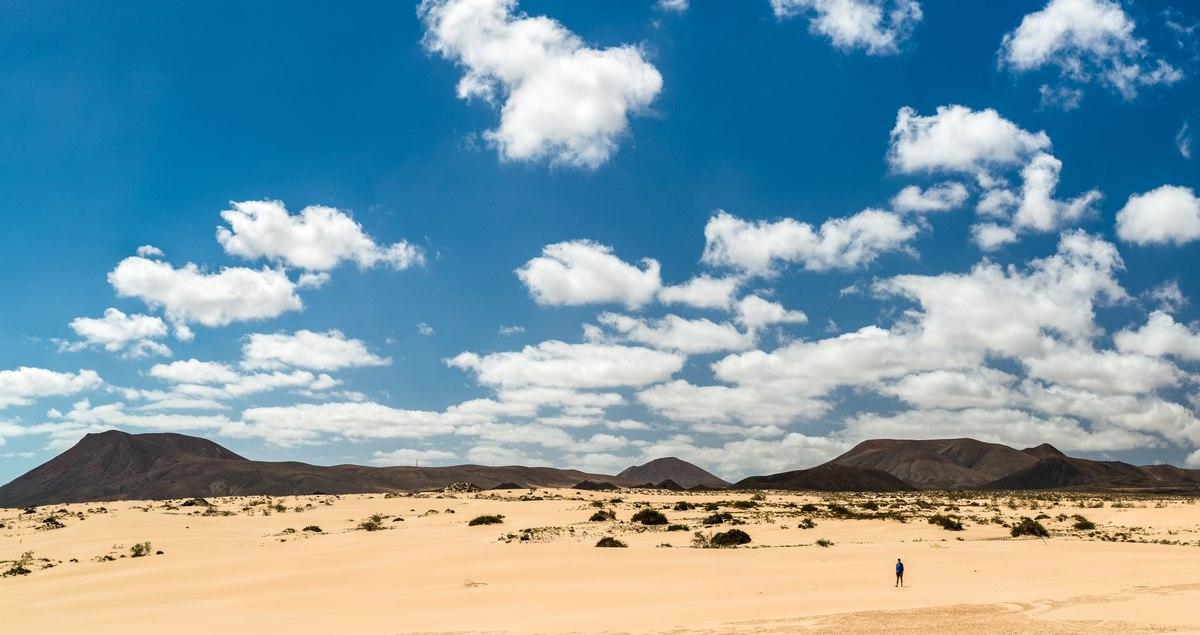 Desert in Fuerteventura