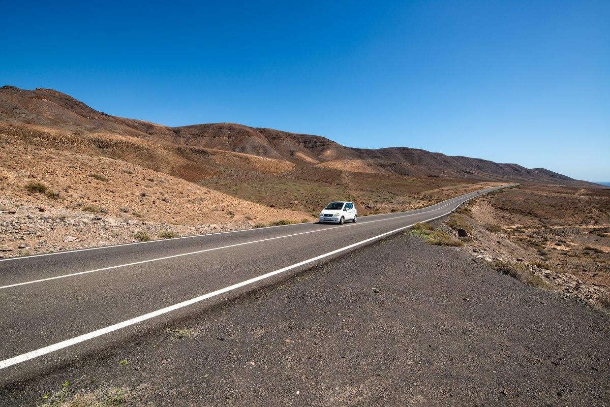 Path to Fuerteventura