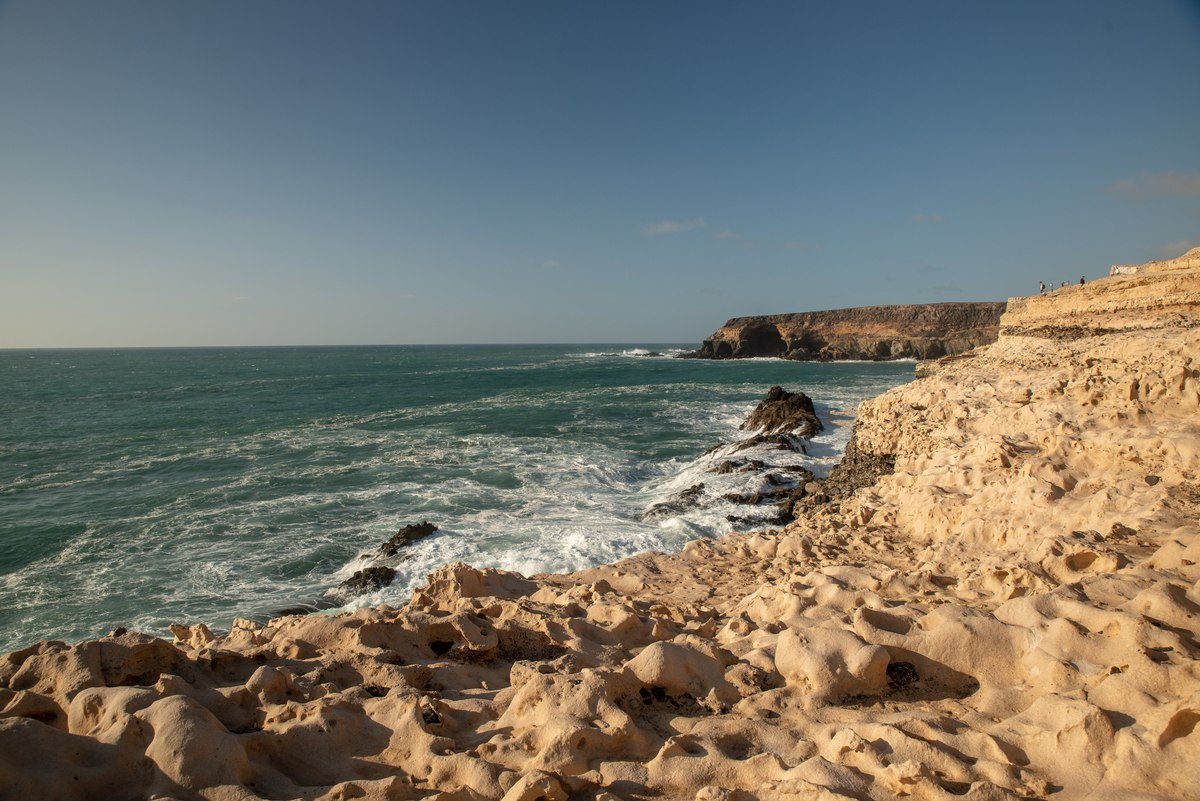 Rocky coast Fuerteventura