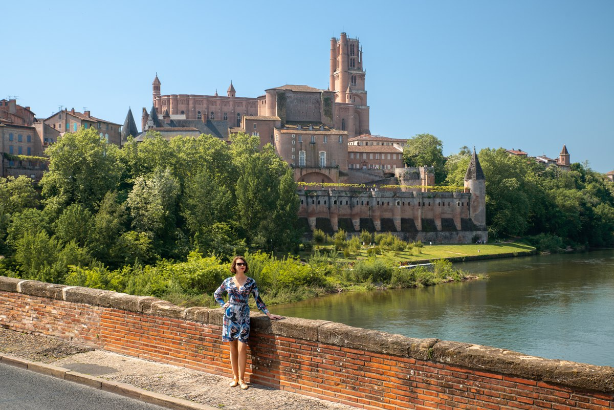 Portrait in Albi