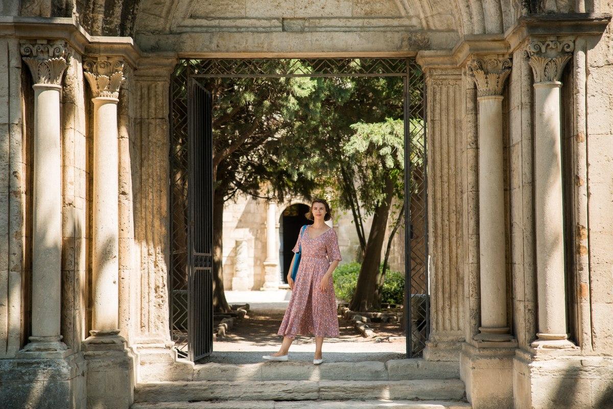 Portrait in Arles