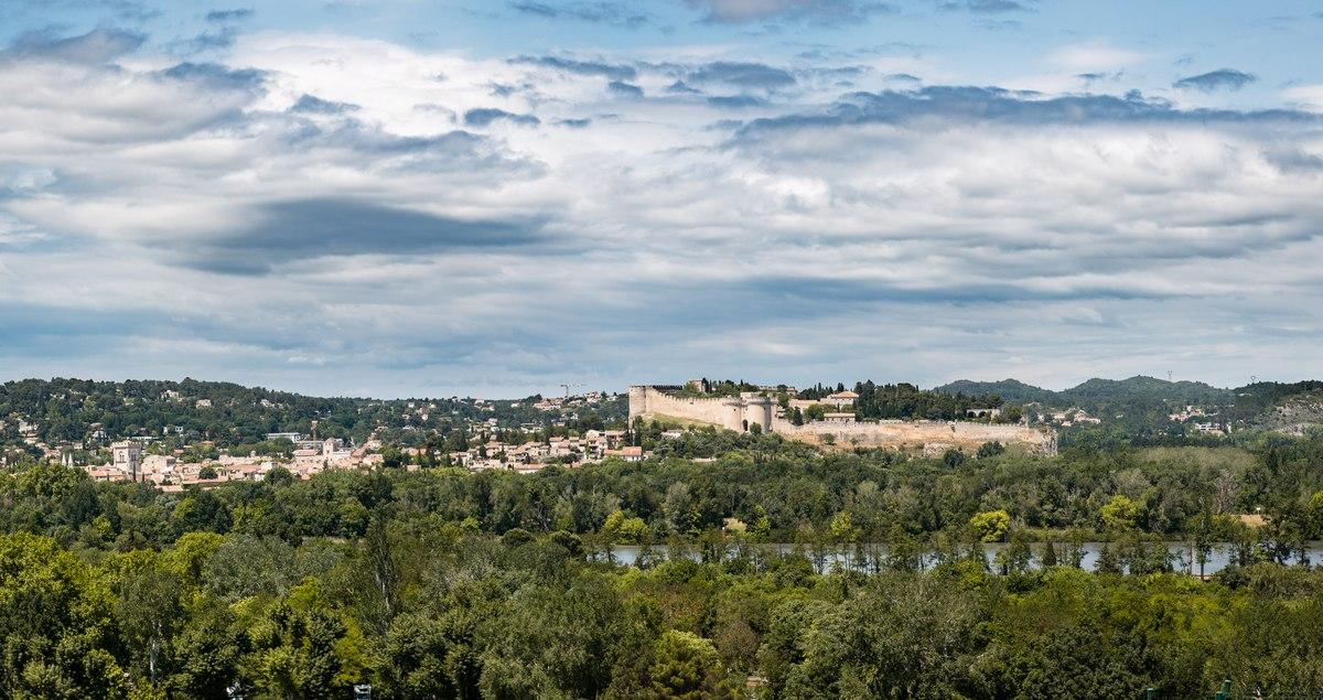 Walls in Avignon