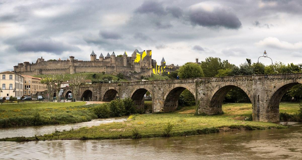 Carcassonne panorama
