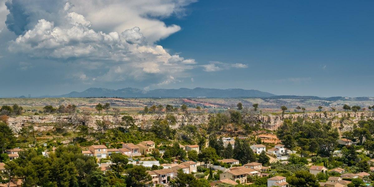 Marignane landscape