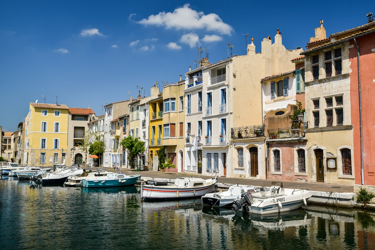 Martigues boats
