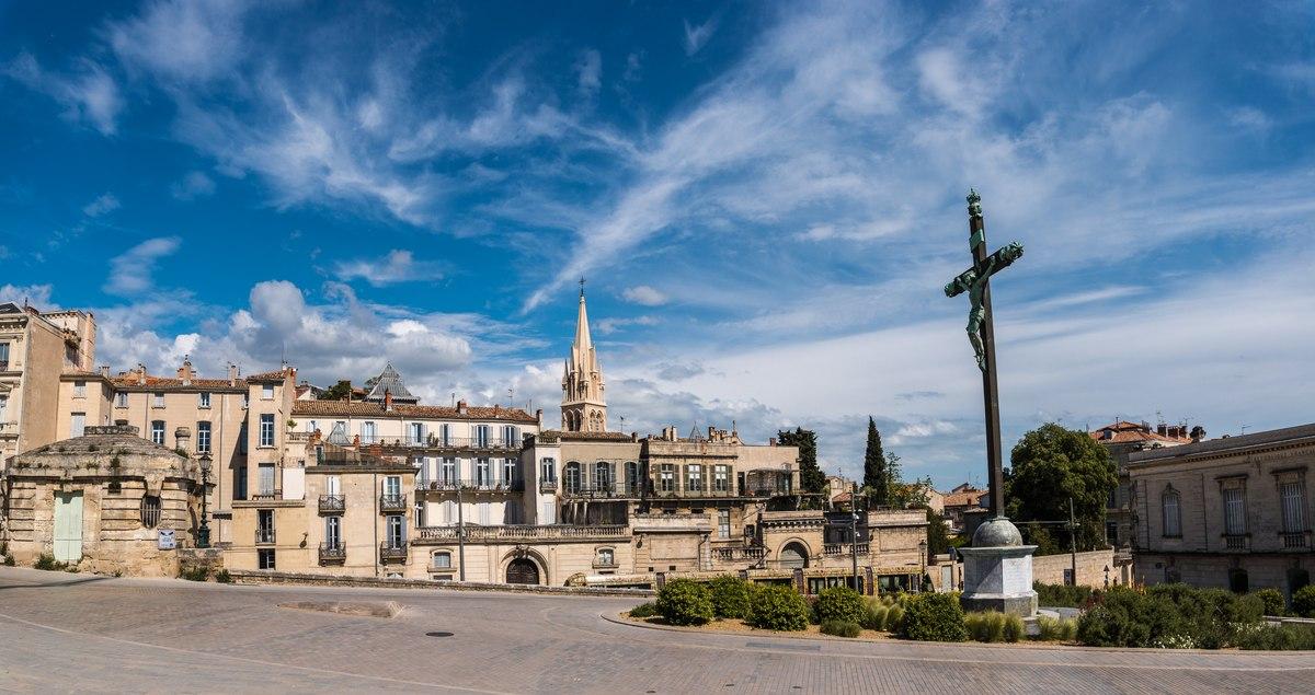 Montpellier Jesus statue