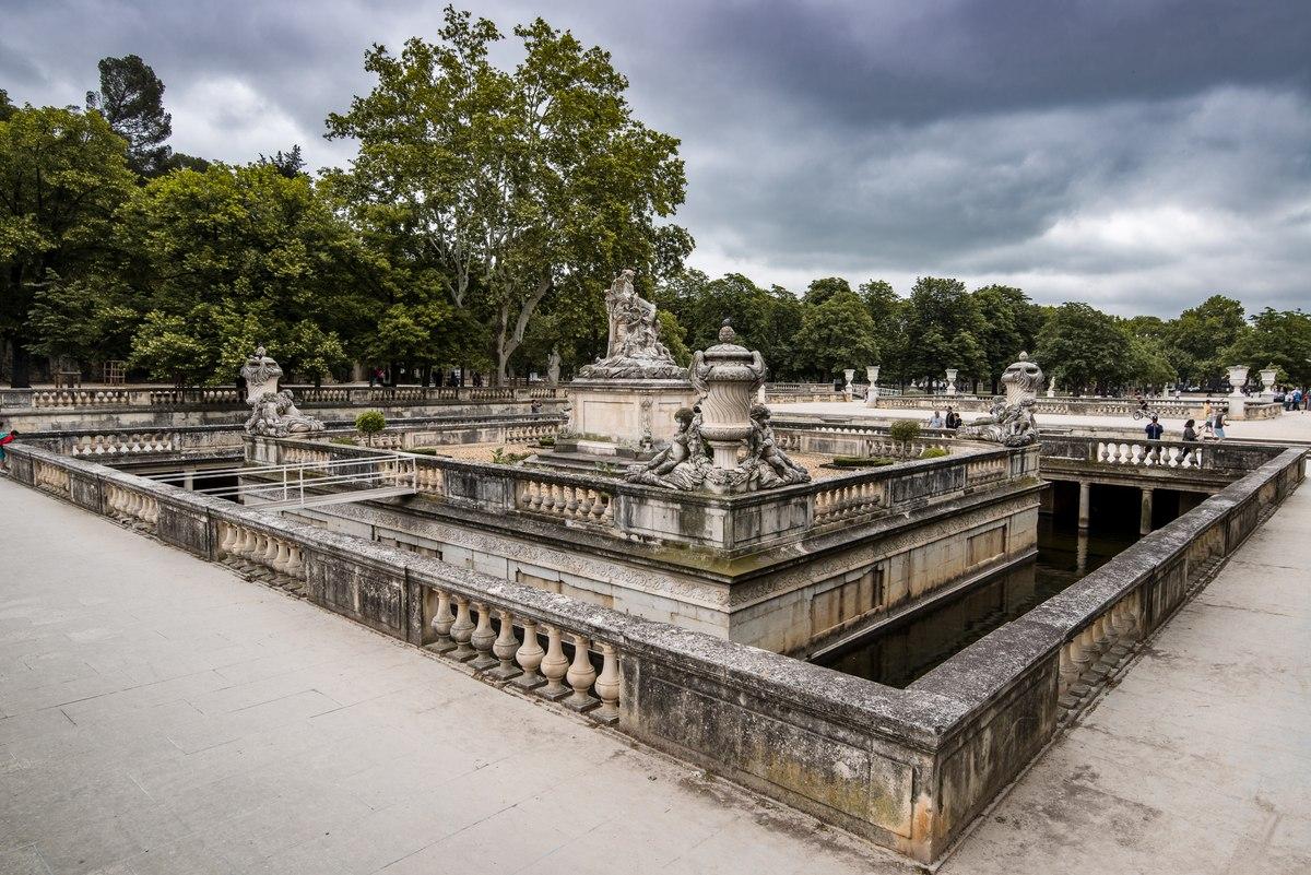 Gardens in Nimes