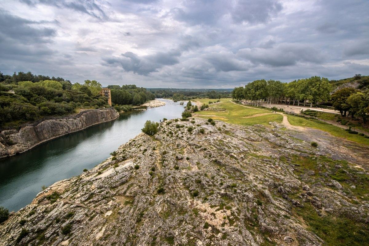 Landscape near Pont du Guard