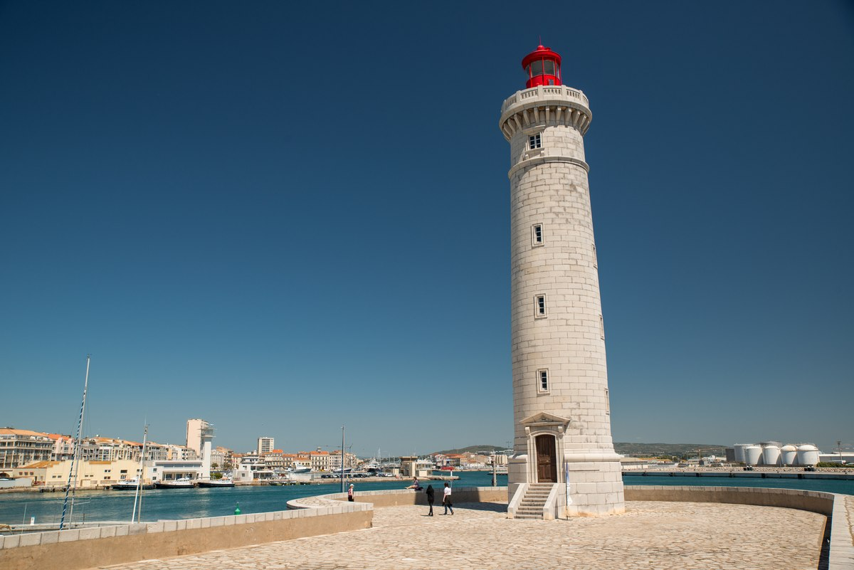 Lighthouse in Sete