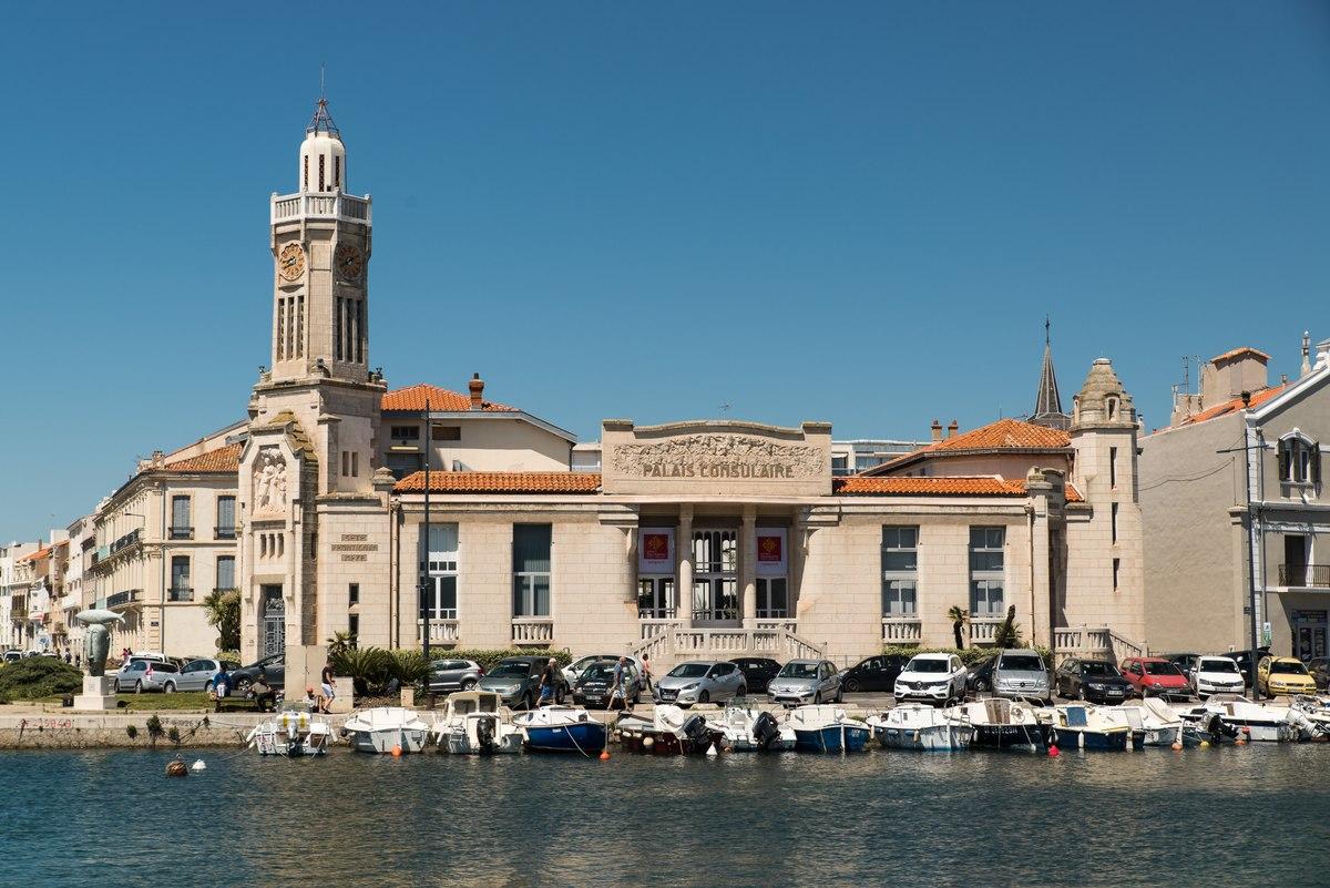 Palais Consoulaire, Sete, France