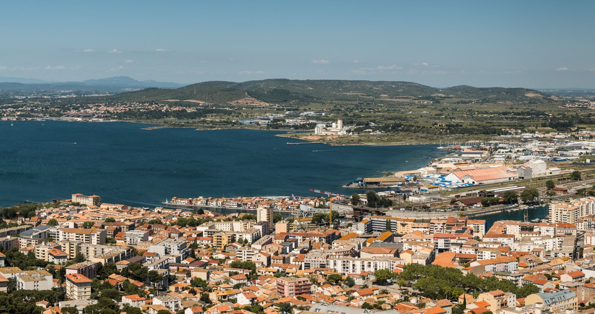 Sete from above