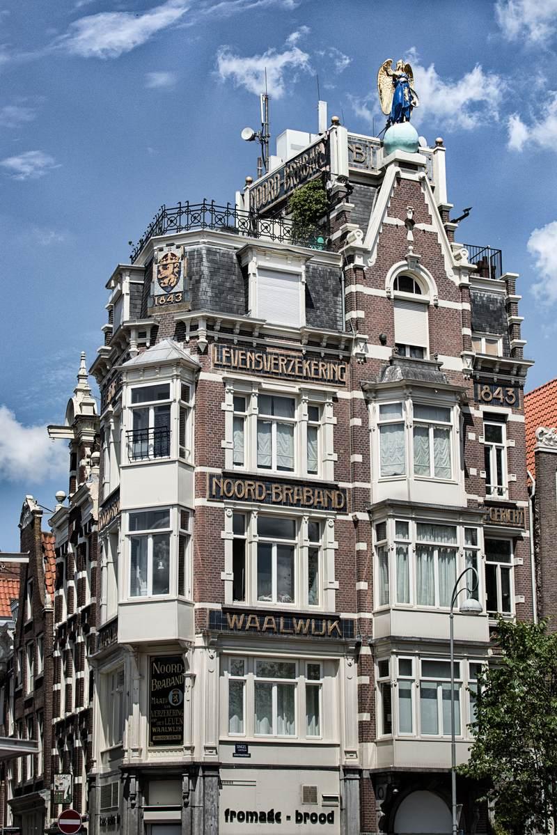 Amsterdam building facade