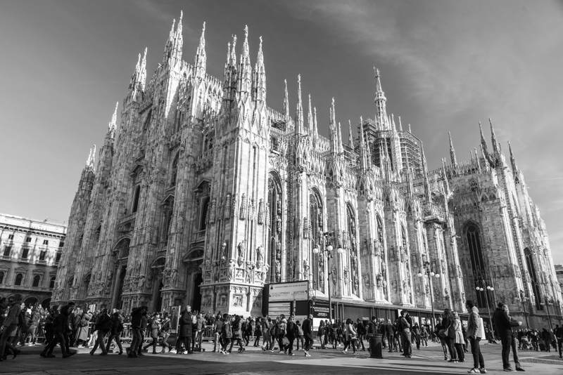 The Milan Cathedral Square