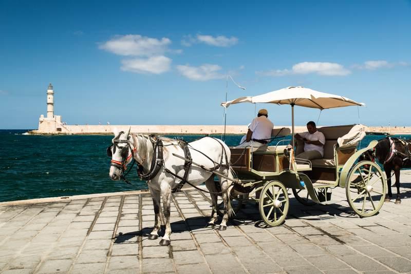 Chania Horse Carrige