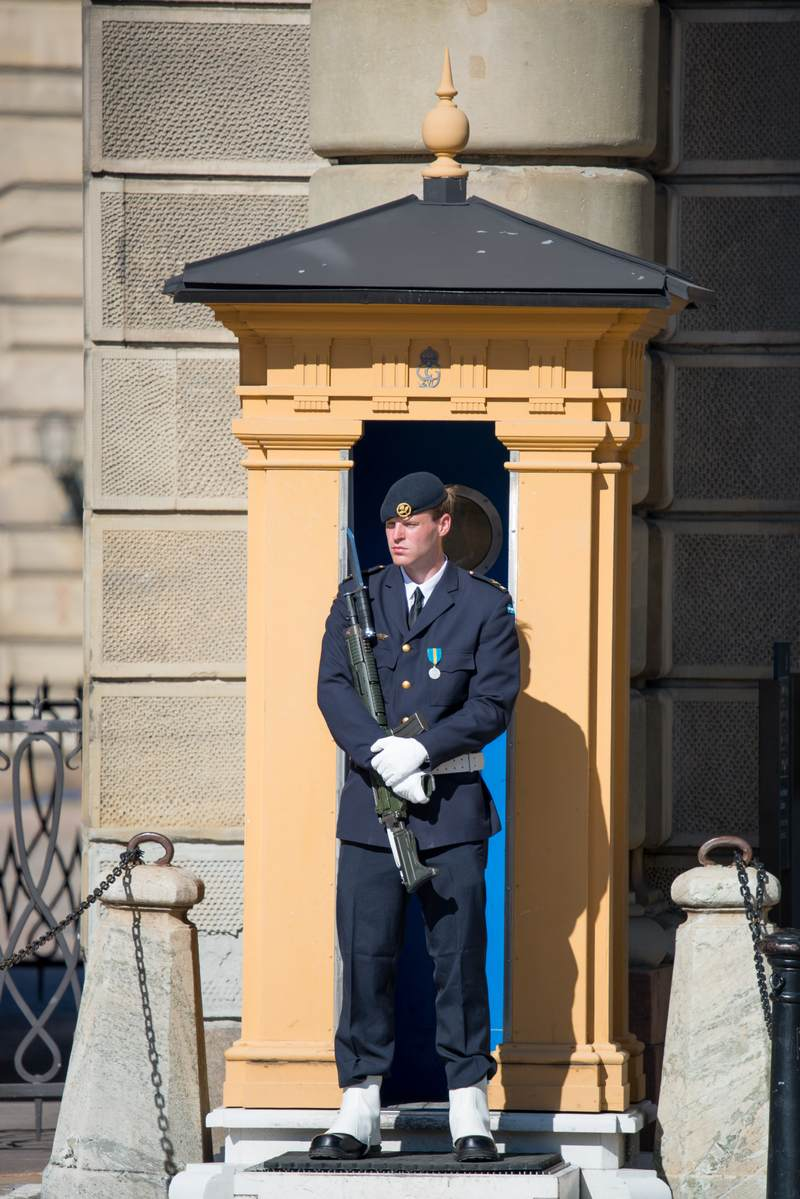 Guard in Stockholm