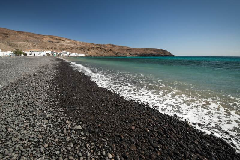 Rock beach in Fuerteventura