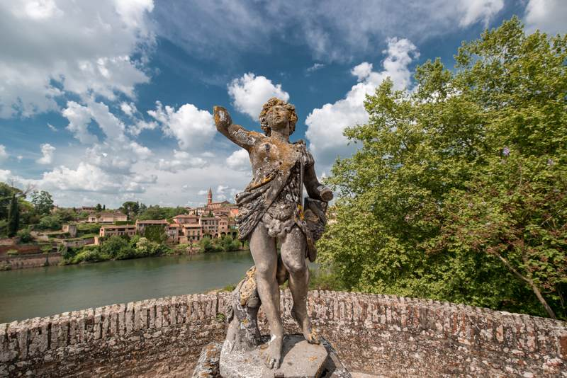 Statue in Albi
