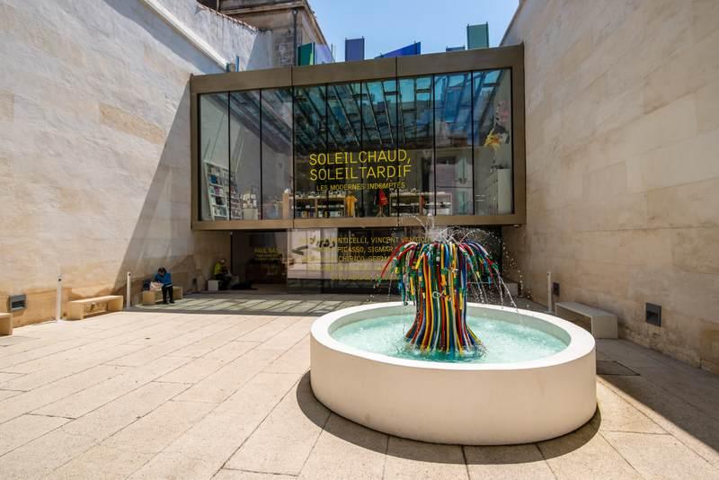 Art museum in Arles