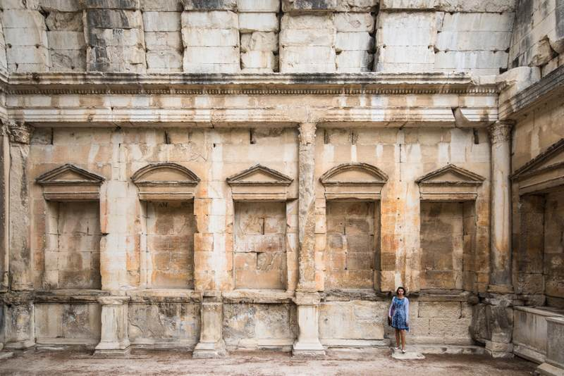Diana's temple in Nimes